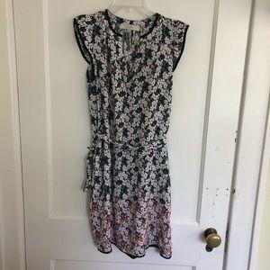 Loft Floral dress size XS